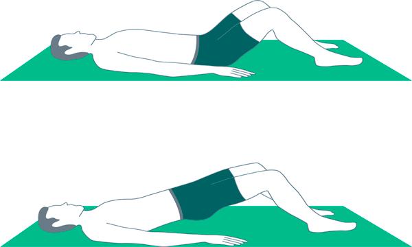 Proper principles of exercise - bridge exercise